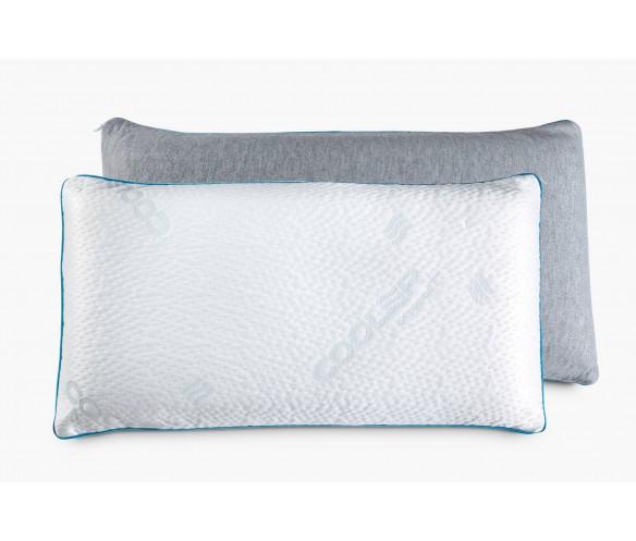almohada viscoelástica fría